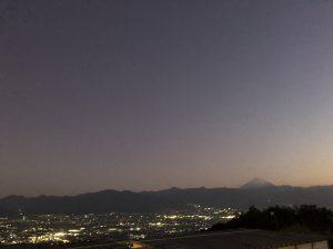 山梨市夜景
